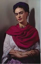 Frida Kahlo photograph by Nickolas Muray (1952)