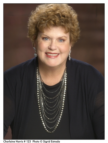 Charlaine Harris will be signing books at Dymocks Chermside today