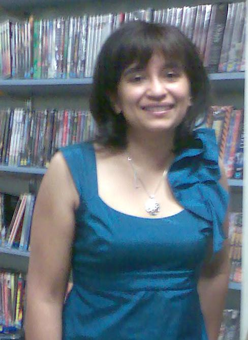 Nalini Singh at Galaxy Bookshop (14/1/2010)