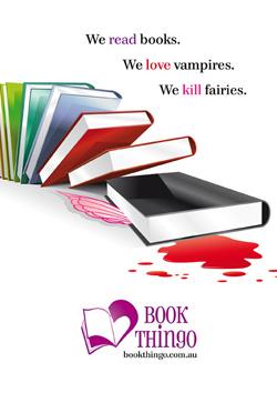 More fairy killing, Angus & Robertson closures, the future of bookshops, ebook readers love a heaving bosom