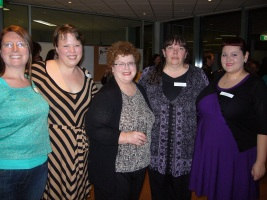 2012 Charlaine Harris meet and greet -- Photo by Debbie Phillips