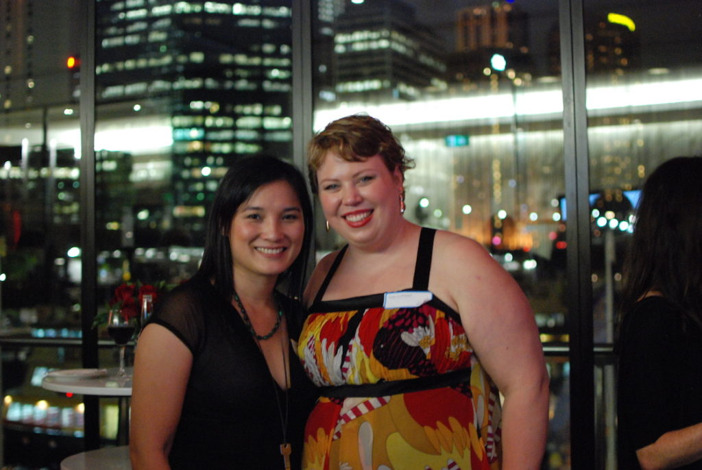 Kate Cuthbert and Kat Mayo (2012, Sydney)