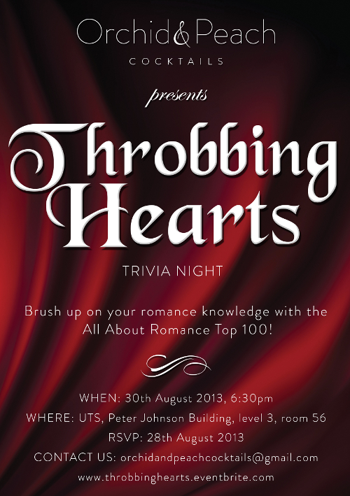 Throbbing Hearts Trivia Night - 2013
