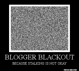 Blogger Blackout