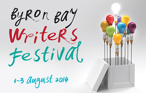 2014 Byron Bay Writers Festival banner