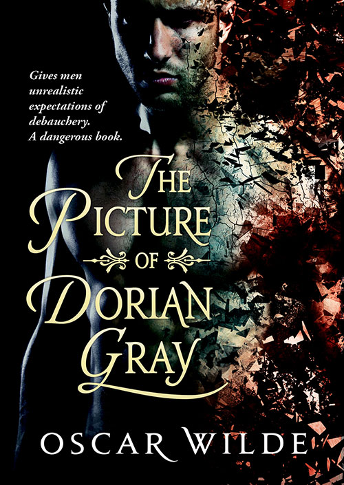 #LoveRomance - The Picture of Dorian Gray by Oscar Wilde cover remix designed by Jennifer Wu