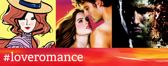 #LoveRomance – Banner designed by Jennifer Wu
