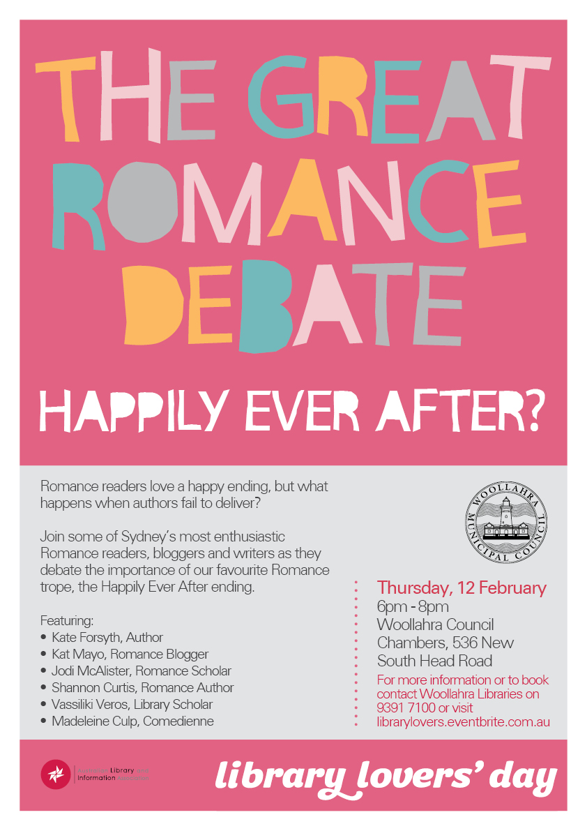 The Great Romance Debate - 2015 Library Lovers Day