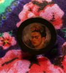 Frida Kahlo brooch photo by Merrian Weymouth, 2016