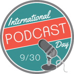 2017 International Podcast Day logo