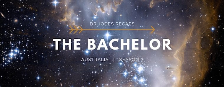 Dr Jodes recaps: The Bachelor S7