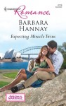 Expecting Miracle Twins by Barbara Hannay (US edition)