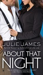 About That Night by Julie James (FBI/US Attorney Series, Book 3)
