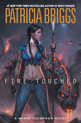 Fire Touched by Patricia Briggs (Mercy Thompson, Book 9) - US edition