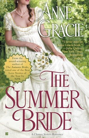 The Summer Bride by Anne Gracie (Chance Sisters, #4)