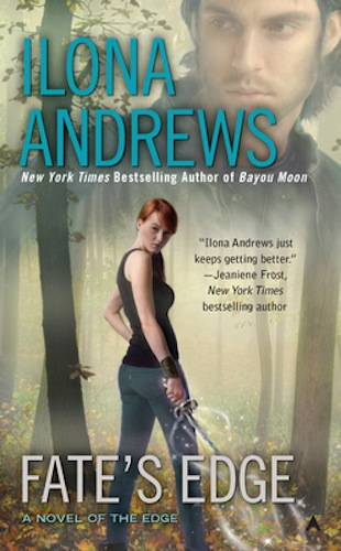 Fate's Edge by Ilona Andrews (The Edge, Book 3) - US edition