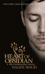 Heart Of Obsidian by Nalini Singh (Psy-Changeling, Book 12) - Australian edition