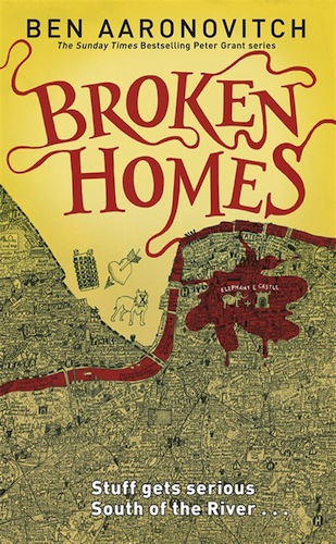 Broken Homes by Ben Aaronovitch (Rivers of London, Book 4)