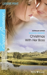 Christmas With Her Boss by Marion Lennox (Sweet Romance)