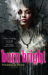 Burn Bright by Marianne de Pierres (Night Creatures, Book 1)