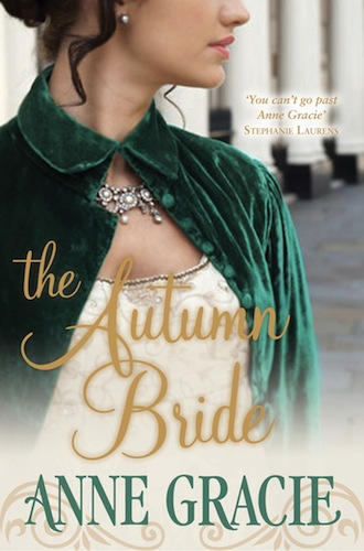 The Autumn Bride by Anne Gracie (Chance Sisters, Book 1) - Australian edition
