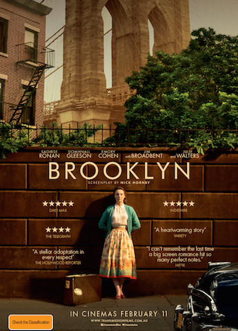GIVEAWAY: 5 double passes to Brooklyn, based on a novel by Colm Tóibín
