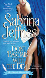 Dont Bargain With The Devil by Sabrina Jeffries (School For Heiresses, Book 5)