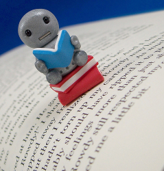 Book Worm Bot by ittybittiesforyou (via Flickr)