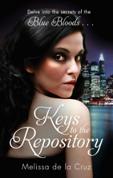 Keys to the Repository by Melissa de la Cruz (Blue Bloods, Companion Novel)