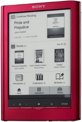 Sony Reader PRS-650 (Red)