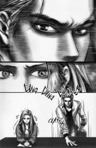 Twilight: The Graphic Novel (Volume 1) by Stephenie Meyer and Young Kim, p28