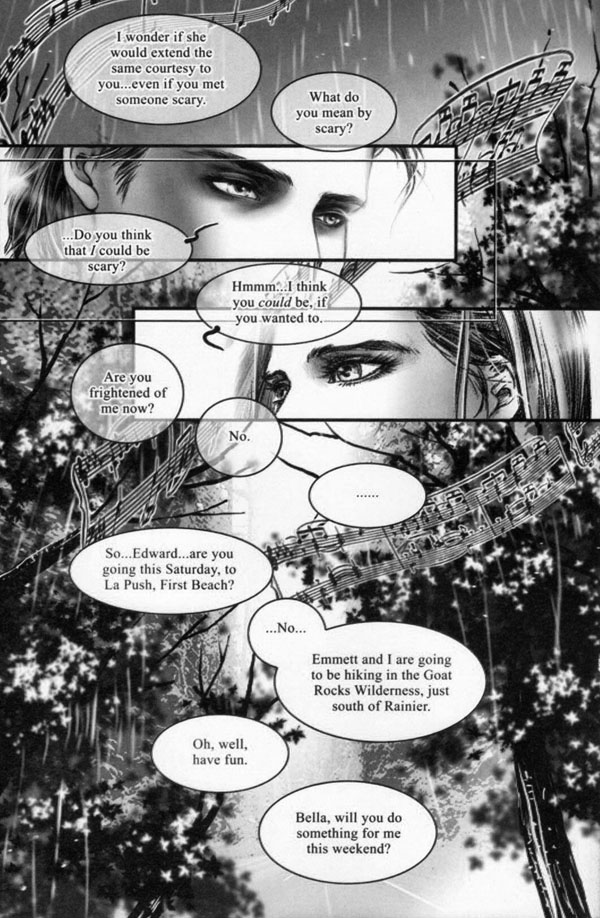 Twilight: The Graphic Novel (Volume 1) by Stephenie Meyer and Young Kim, p97