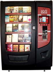 Novel Idea Book Vending Machine