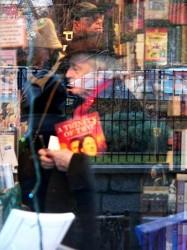 Bookshop in Paris by paskelius -- via stock.xchng